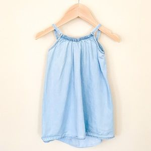 Crazy 8  | Baby Girl Dress Denim Color 12-18 M